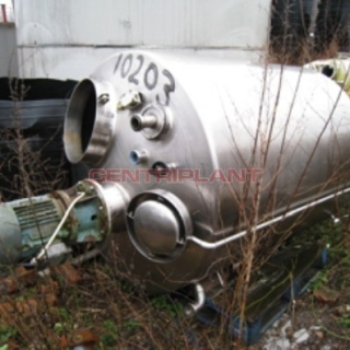 10203 - 1,700 LITRE STAINLESS STEEL HIGH SHEAR INSULATED  MIXING TANK
