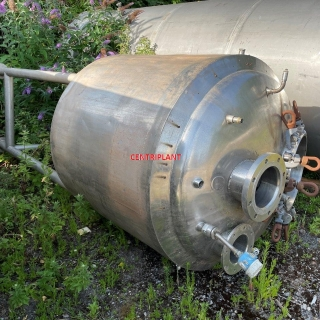 10290 - 1000 LITRE STAINLESS STEEL  MIXING TANK