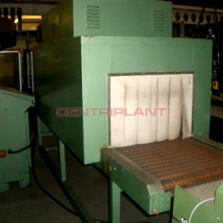 10567 - EDL AUTOMATIC INLINE SLEEVE SEALER AND SHRINK WRAP TUNNEL