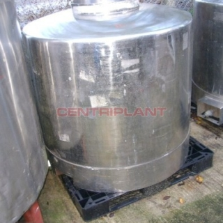 10837 - 1000 LITRE STAINLESS STEEL TRANSIT TANKS