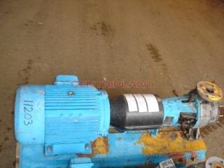 11203 - INGERSOLL DRESSER STAINLESS STEEL PUMP, TYPE 80-50CPX160, 11 KW.