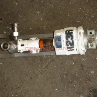 11236 - JABSCO STAINLESS STEEL PNEUMATIC PUMP,1in  CONNECTIONS
