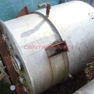 11309 - 5,500 LITRE STAINLESS STEEL WATER JACKETED TANK