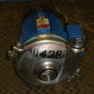11438 - ALFA LAVAL CENTRIFUGAL PUMP, TYPE ALC1 D/162, 2.5in  INLET, 2in  RJT OUTLET, 4KW.