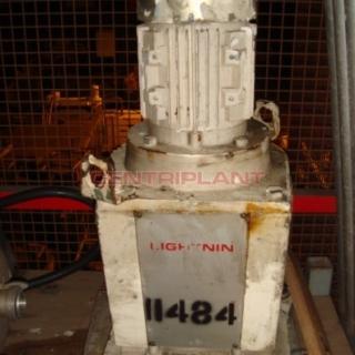 11484 - LIGHTNIN MIXER MOTOR AND GEARBOX..75 KW