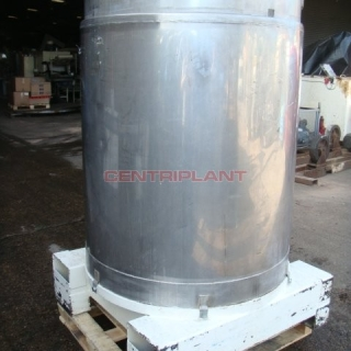 11884 - 1000LTR STN/STL TRANSI TANKS WITH CONICAL BASE