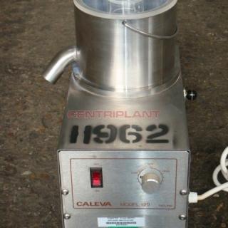 11962 - G B CALEVA LABORATORY POWDER  MIXER, MODEL 120.