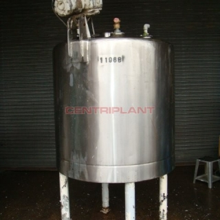 11968 - 1,400 LITRE STAINLESS STEEL MIXING TANK