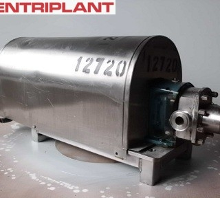12720 - IBEX STAINLESS STEEL LOBE PUMP, 1in  CONNECTIONS