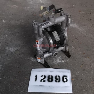 12896 - GRACO ALUMINIUM DIAPHRAGM PUMPS, MODEL HUSKY 716, 15 MM INLET/OUTLET CONNECTIONS