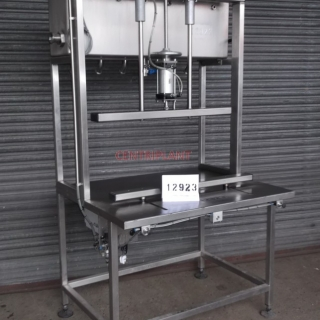 12923 - QUADRANT 6 HEAD SEMI AUTOMATIC GRAVITY FILLER