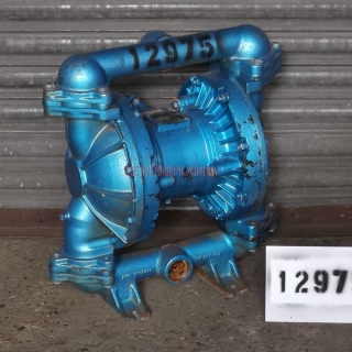 12975 - SANDPIPER MILD STEEL  DIAPHRAGM PUMP, MODEL  EB 1.5-A, 1.5 in BSP INLET/OUTLET CONNECTIONS.