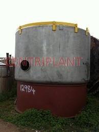 12984 - 19,500 LITRE STAINLESS STEEL MIXING TANK