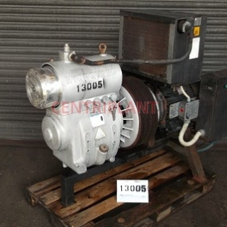 13005 - HYDROVANE MODEL 120 PUA AIR COMPRESSOR, 18.5 KW DRIVE MOTOR