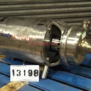 13198 - APV PUMA STAINLESS STEEL PUMP, MODEL 2in -2.5in -9in , 5.5 KW DRIVE MOTOR