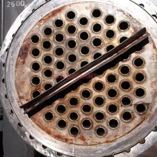 13336 - PEDEN MORTENSEN  STAINLESS STEEL SHELL AND TUBE HEAT EXCHANGER