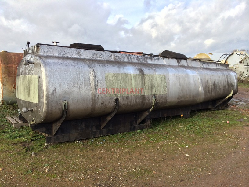 13347 - 20,000 LITRE STAINLESS STEEL ROAD TANKER