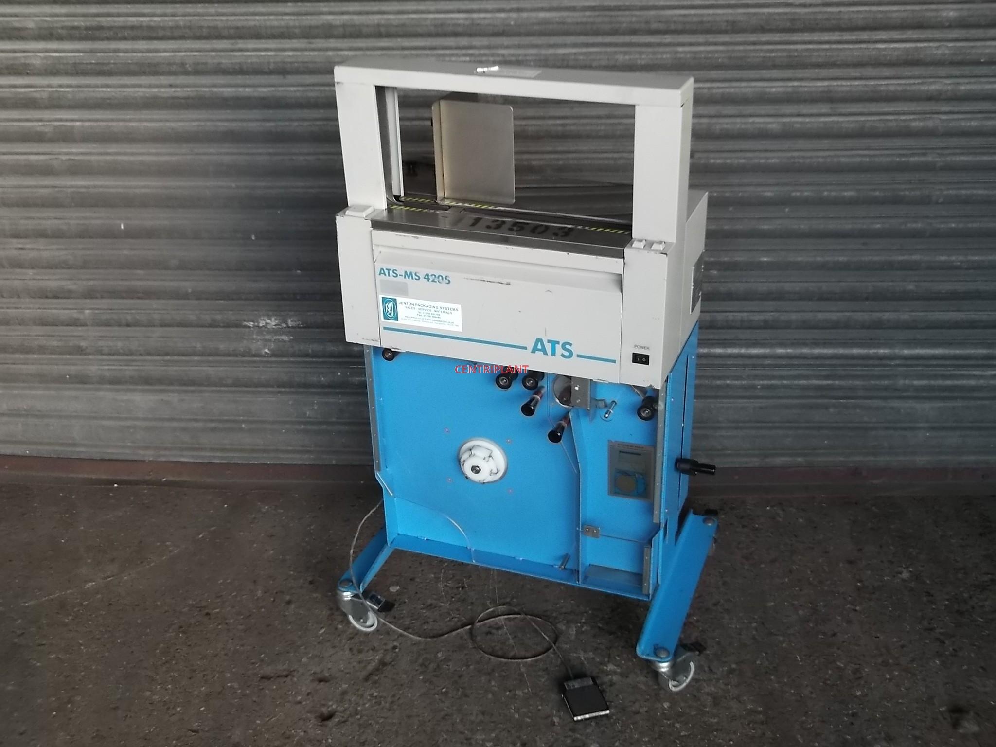 13503 - ATS BANDING MACHINE, 400 MM WIDE X 200 MM HIGH