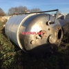 13806 - 9,900 LITRE JACKETED STAINLESS STEEL TANK