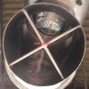 13845 - GLATT GRATER, MODEL TR 160, 1.5 KW DRIVE MOTOR