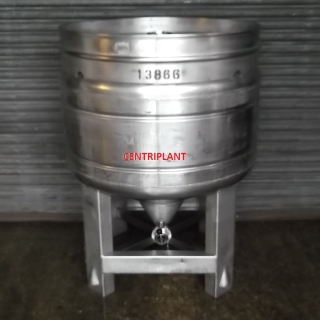 13866 - 570 LITRE STAINLESS STEEL IBC PRESSURE RATED 30PSI