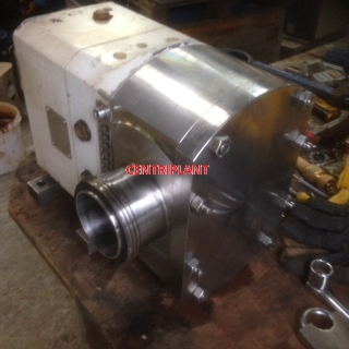 13886 - GARDNER DENVER 3in  RJT STAINLESS STEEL LOBE PUMP HEAD, TYPE STP20/106/05