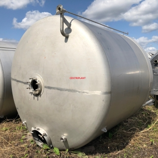 13902 - 17,250 LITRE GRADE 316 STAINLESS STEEL MIXING TANK