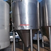 13925 - 5,000 LITRE CHILLED JACKETED TANKS, CONICAL BASE, INSULATED AND CLAD WITH POP RIVETED ST/ST