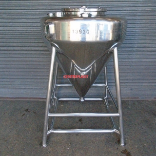 13930 - 500 LITRE 316 STAINLESS STEEL TANK