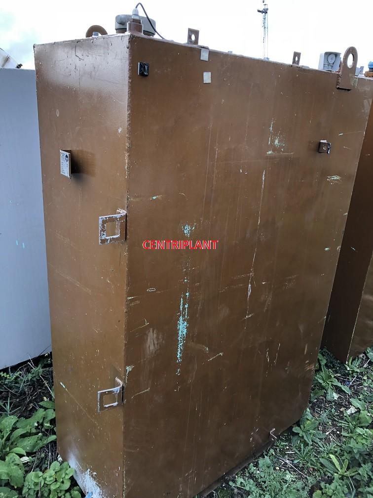 13981 - 1,020 LITRE MILD STEEL BUNDED TANK