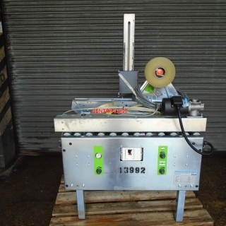 13992 - SOCO AUTOMTIC ADJUST TOP AND BOTTOM TAPE SEALER, MODEL T 55