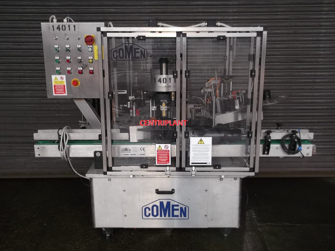 14011 - COMEN SELF ADHESIVE BACK AND FRONT LABELLER, MODEL SR/1/ADH