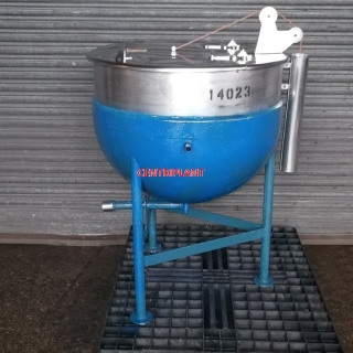 14023 - 200 LITRE STEAM JACKETED PAN S W P 1 BAR