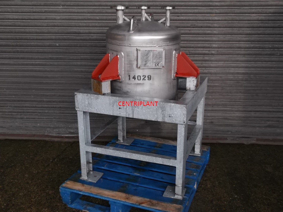 14029 - 127 LITRE GRADE 316 STAINLESS STEEL PRESSURE VESSEL