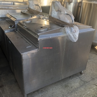 14038 - 1,000 LITRE SQUARE STAINLESS STEEL TANK