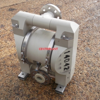 14042 - 2in  ALFA LAVAL PLASTIC DIAPHRAGM PUMP