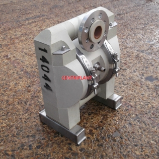 14044 - 1.5in  ALFA LAVAL PLASTIC DIAPHRAGM PUMP