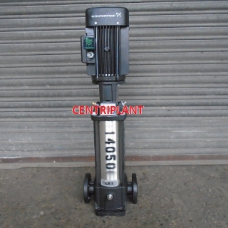 14050 - GRUNDFOS STAINLESS STEEL PUMPS TYPE  CR 3-19, FLOW RATE 3,000 LPH