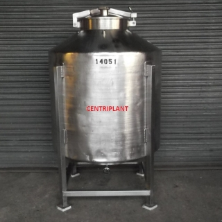 14051 - 1,000 LITRE STAINLESS STEEL TANKS