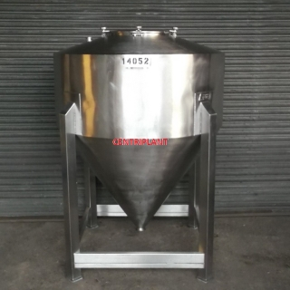 14052 - 1,400 LITRE STAINLESS STEEL TANK