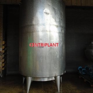 14059 - 9,000 LITRE VERTICAL STAINLESS STEEL MIXING TANK