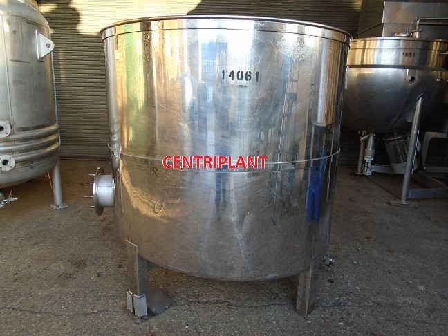 14061 - 2,000 LITRE STAINLESS STEEL OPEN TOP TANK