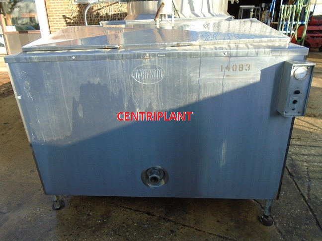 14083 - 2,750 LITRE STAINLESS STEEL OPEN TO TANK