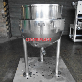 14085 - 250 LITRE STEAM JACKETED PAN