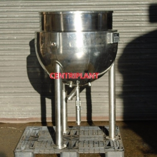 14086 - 250 LITRE STEAM JACKETED PAN