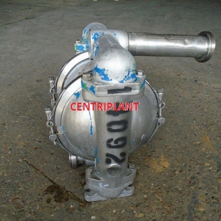 14092 - DEPA 2in  STAINLESS STEEL DIAPHRAGM PUMP