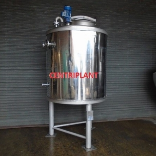 14112 - 1,800 LITRE STAINLESS STEEL JACKETED MIXING TANK