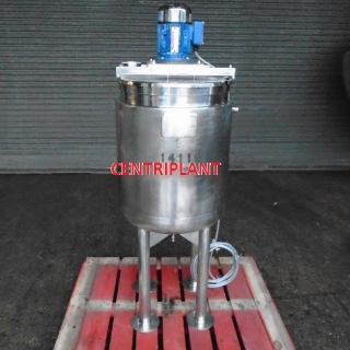 14119 - 120 LITRE GIUSTI STAINLESS STEEL STEAM JACKETED HIGH SHEAR MIXING TANK