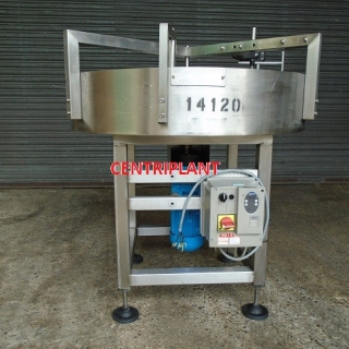 14120 - 1 M DIA STAINLESS STEEL ROTARY TABLE