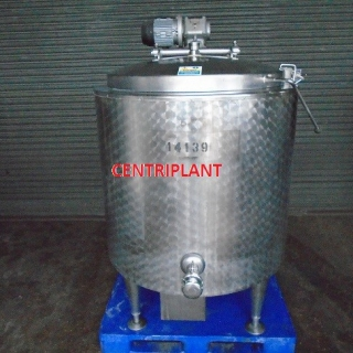14139 - 500 LITRE JACKETED MIXING TANK